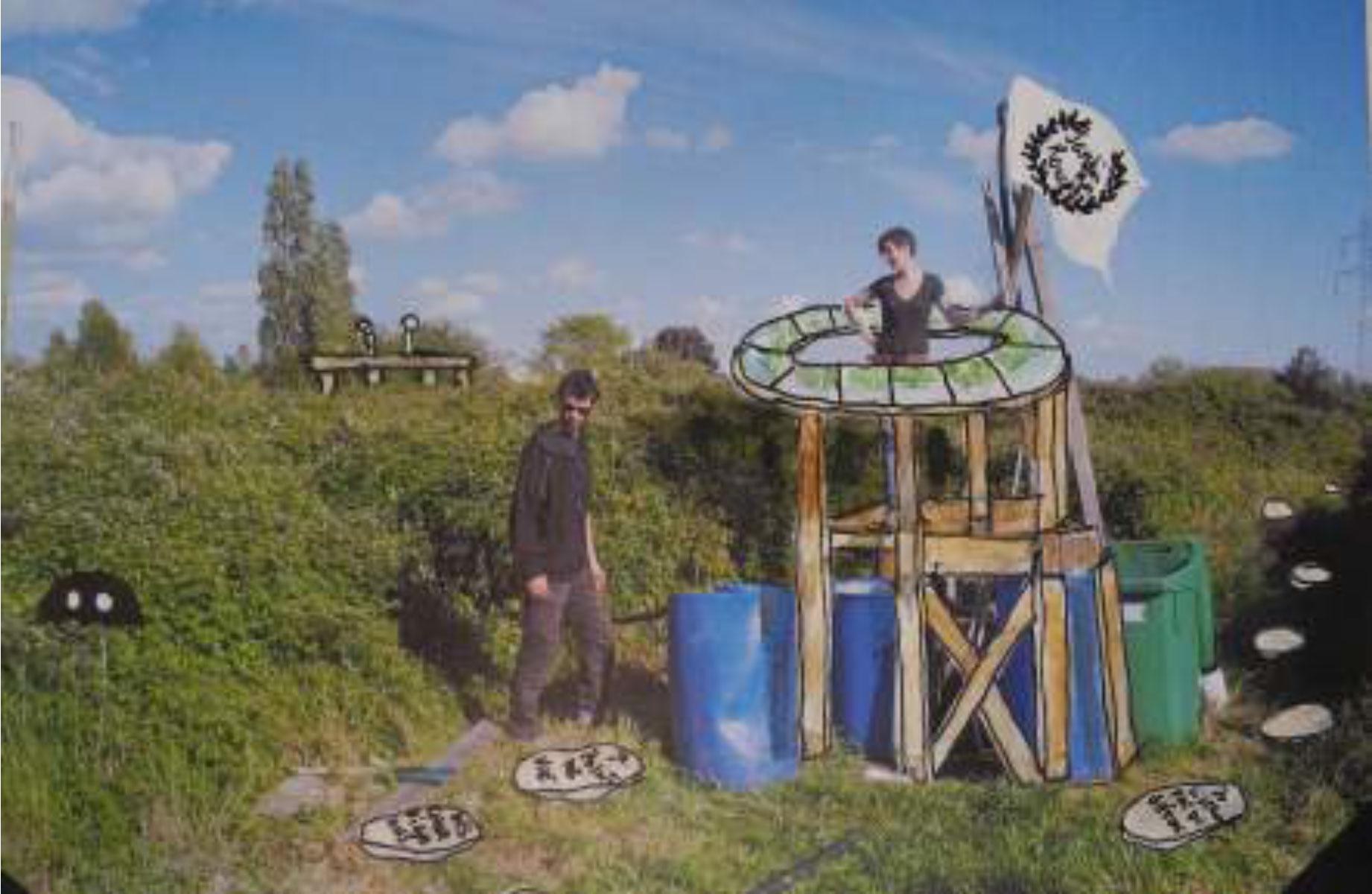 La Ceramique S'invite Aux Ronces Jardin Collectif Autogere